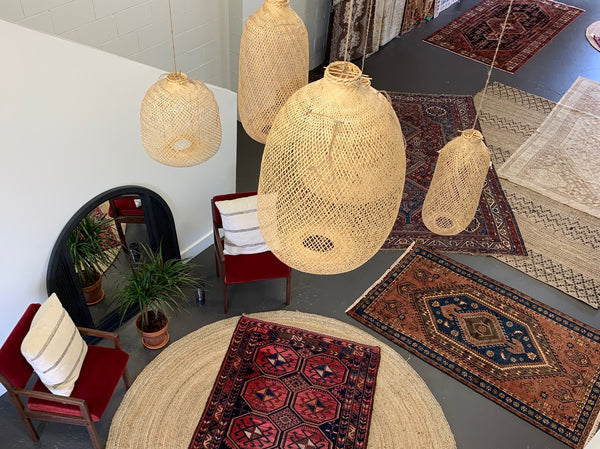 hamadan, vintage rugs, swoon rugs, creatives we love