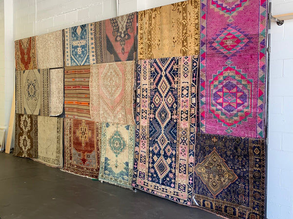 swoon rugs, creatives we love, Edgework Creative, vintage rugs