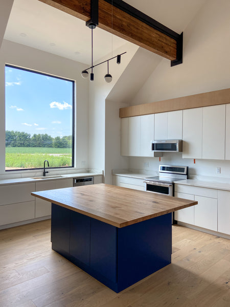 5 Simple Ways to Update Your Home by Edgework Creative, kitchen island