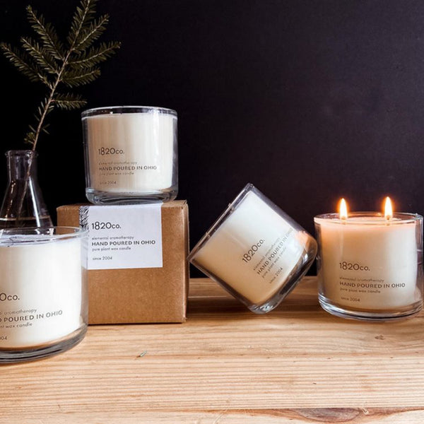 1820 candle co, soy candles