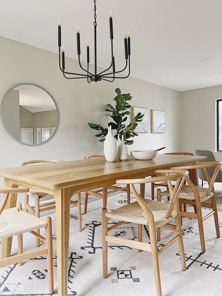 Summit dining table by Edgework Creative