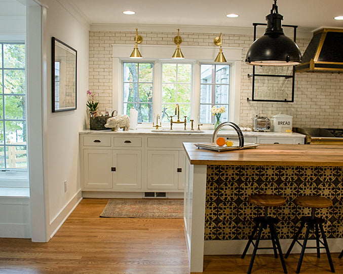 French farmhouse inspired kitchen renovation