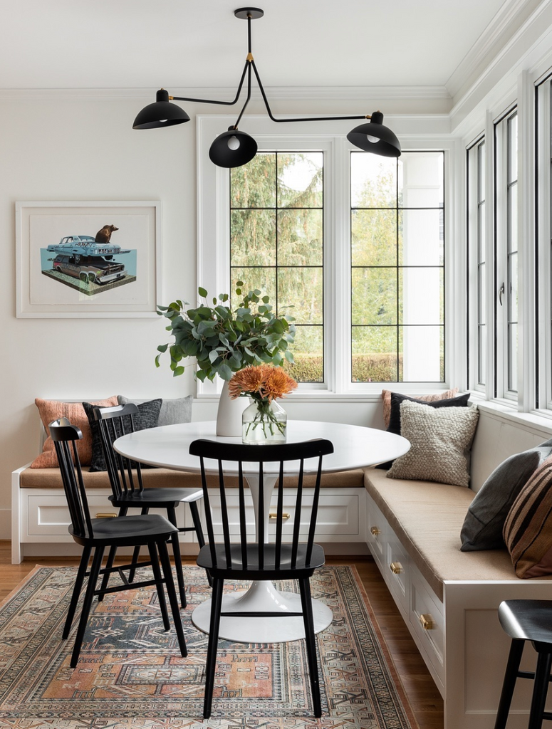 small round kitchen table - @dominomag @casework.it