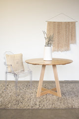 wood table, dining table, sustainable furniture