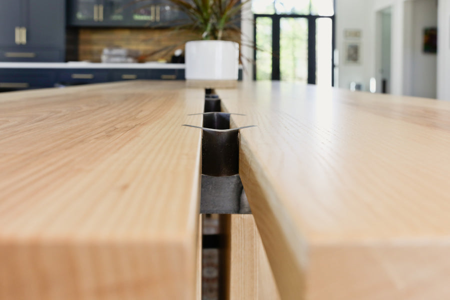 The Cambridge dining table by Edgework Creative, dining table