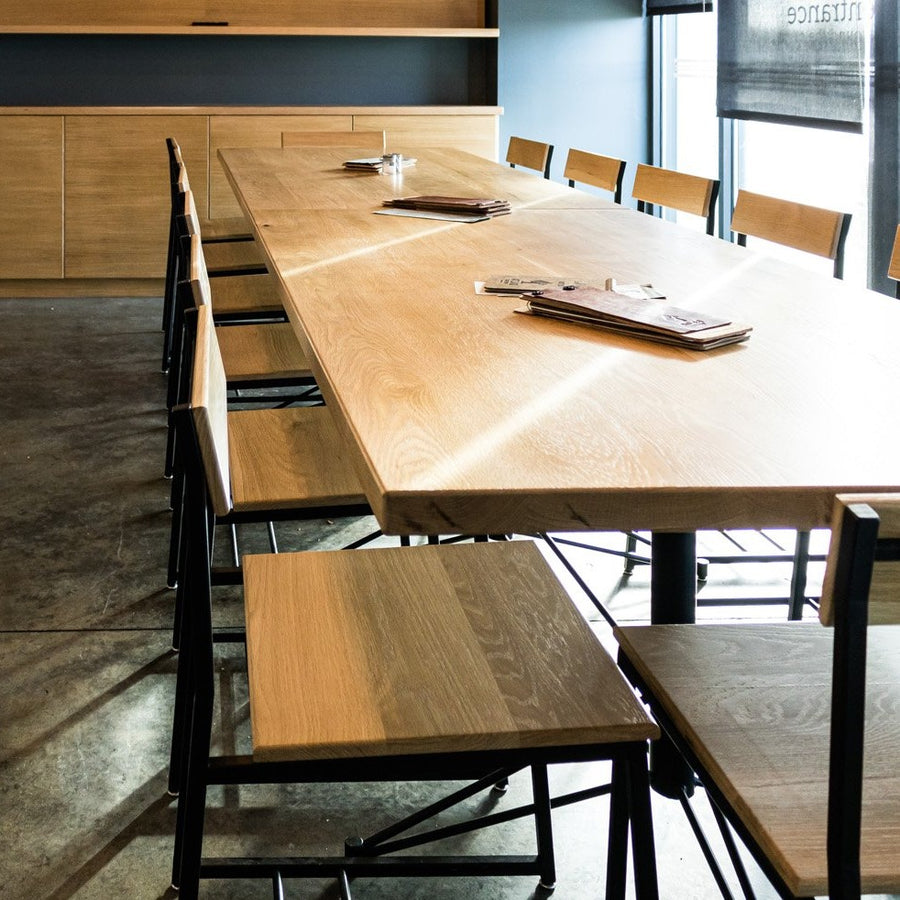 The Scout chair by Edgework Creative, restaurant seating