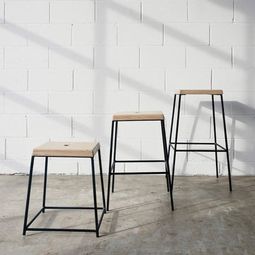 STAX stool by Edgework Creative, stacking stools
