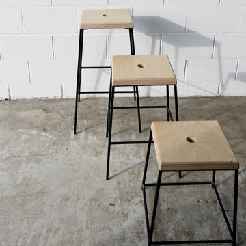 STAX counter stool by Edgework Creative, stacking stools