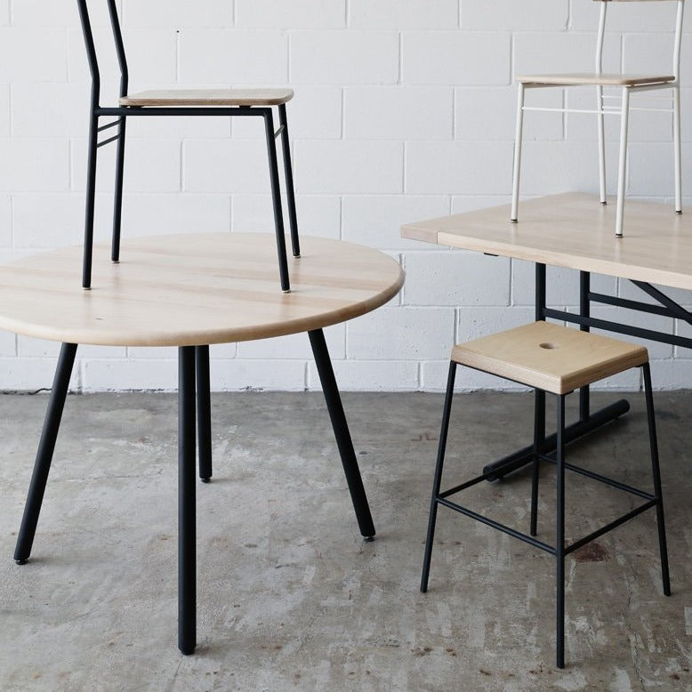 The Elemnt Dining Table by Edgework Creative, round dining table