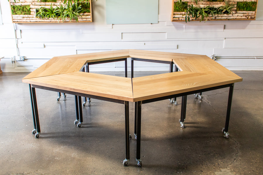 The HIVE modular desk by Edgework Creative, office furniture