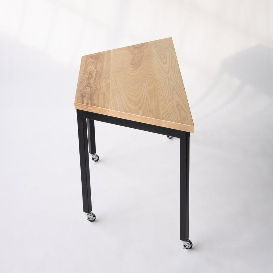 modular table on wheels
