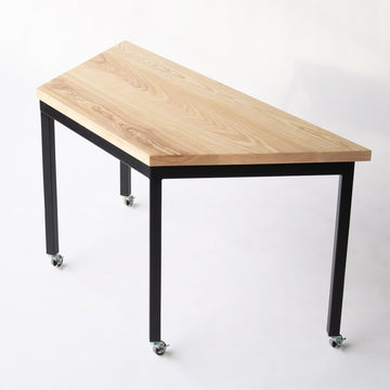 modular table on casters