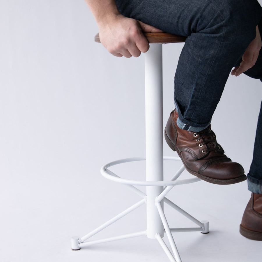 Mast Stool by Edgework Creative, custom seating