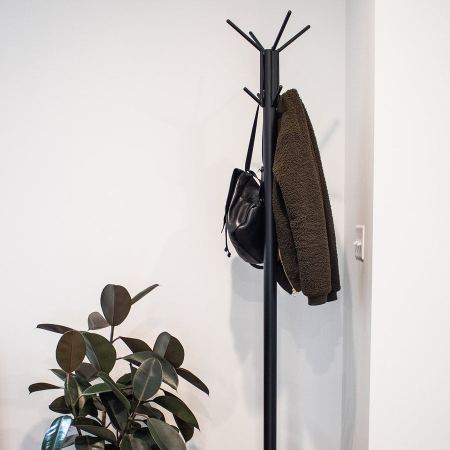 The Salute coat rack by Edgework Creative, metal coat rack