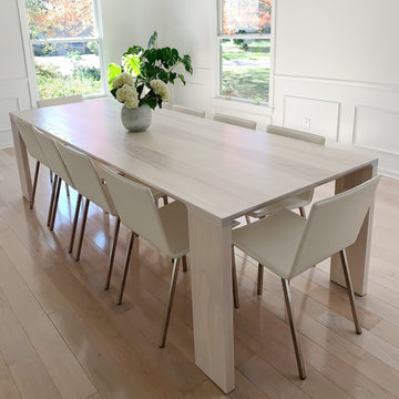 Lumi dining table by Edgework Creative, scandinavian table