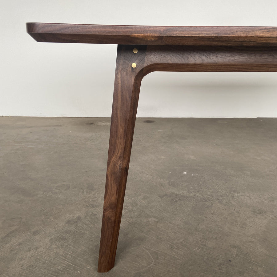 The Summit dining table by Edgework Creative, walnut dining table