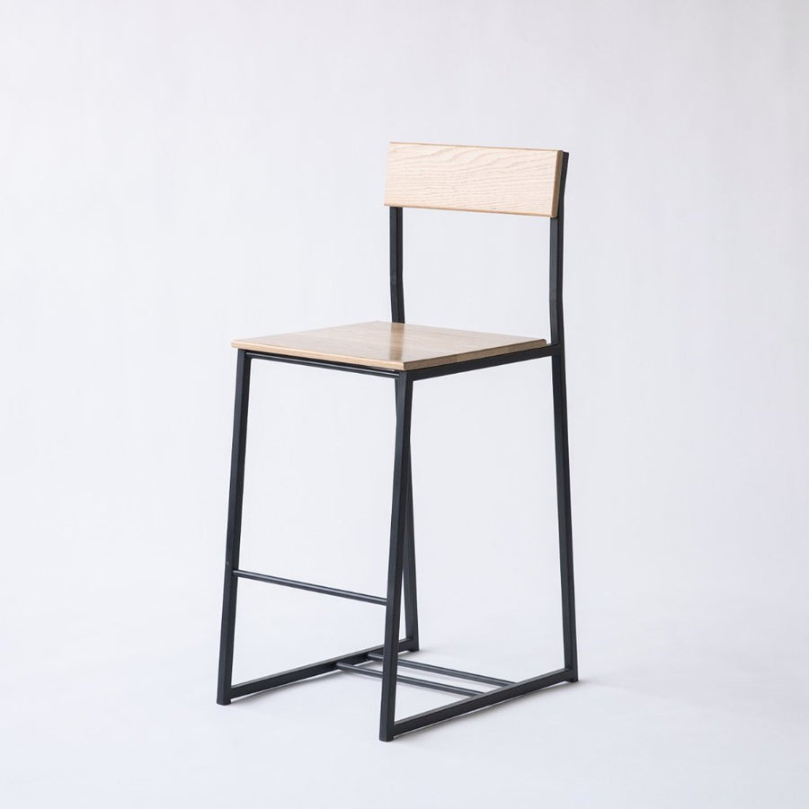 The Scout counter stool by Edgework Creative, custom seating