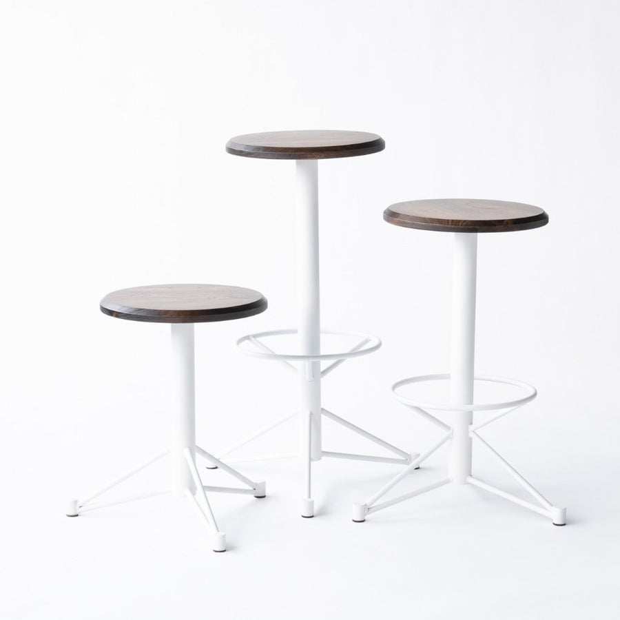 modern affordable stools with footrest