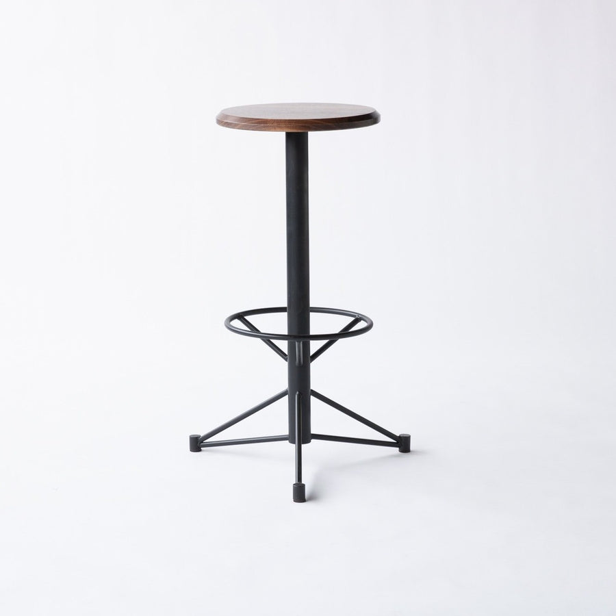 Mast Bar Stool- Walnut
