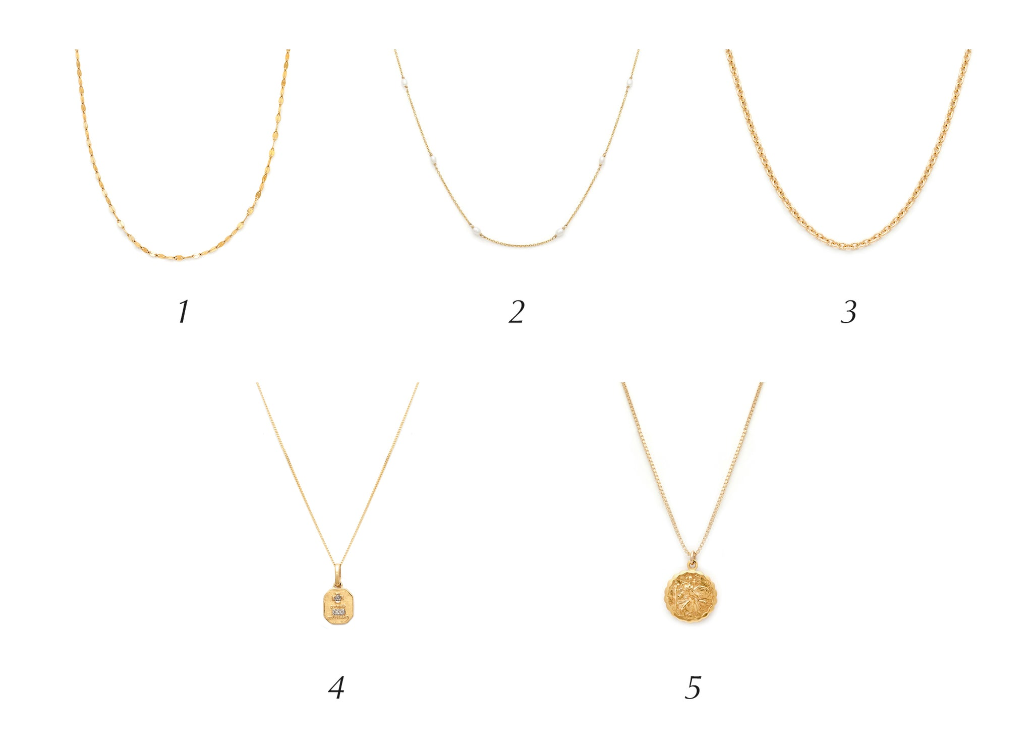 Love Token Necklace Layering - Pairings
