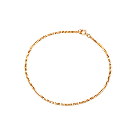 Curb Chain Bracelet | 10k Gold