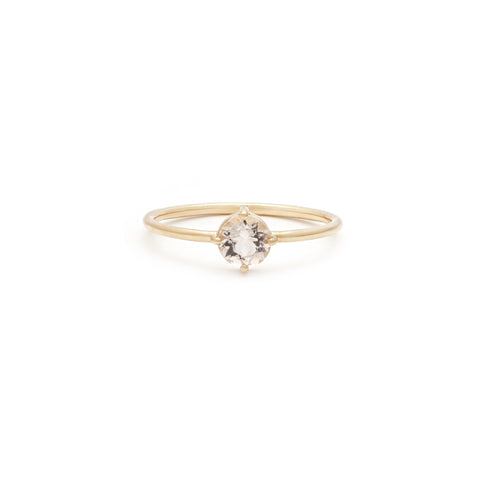Compass Ring | 14k Gold & Morganite