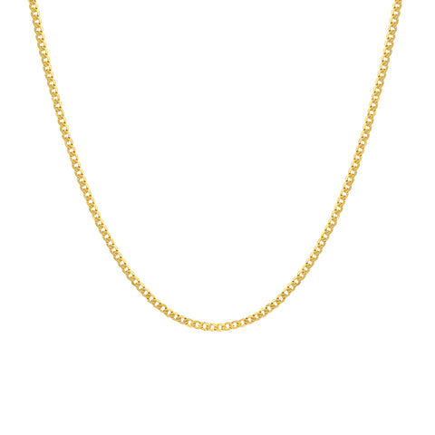 Cubano Chain Necklace | 14k Gold