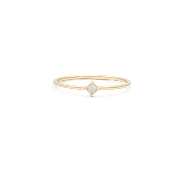 Element Ring | 14k Gold & Opal