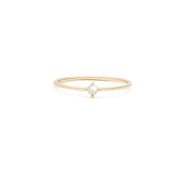 Element Ring | 14k Gold & Pearl