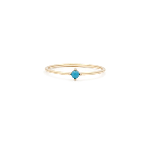 Element Ring | 14k Gold & Turquoise
