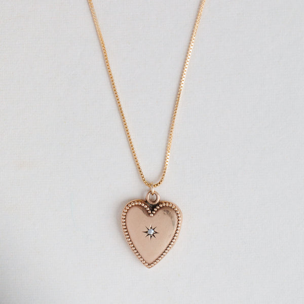 Antique Heart Locket - 279