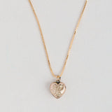 Antique Heart Necklace - 305