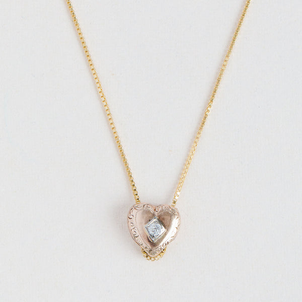 Antique Heart Locket - 312