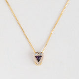 Antique Heart Necklace - 317