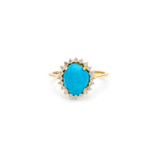 Antiquity Turquoise Ring