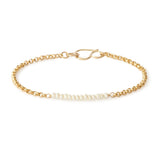 leah alexandra fresh water pearl gold filled bracelet