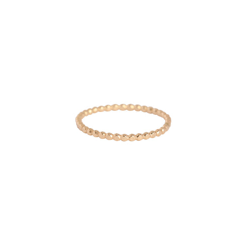 leah alexandra gold filled stacking ring
