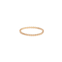 Bead Band Ring | Gold