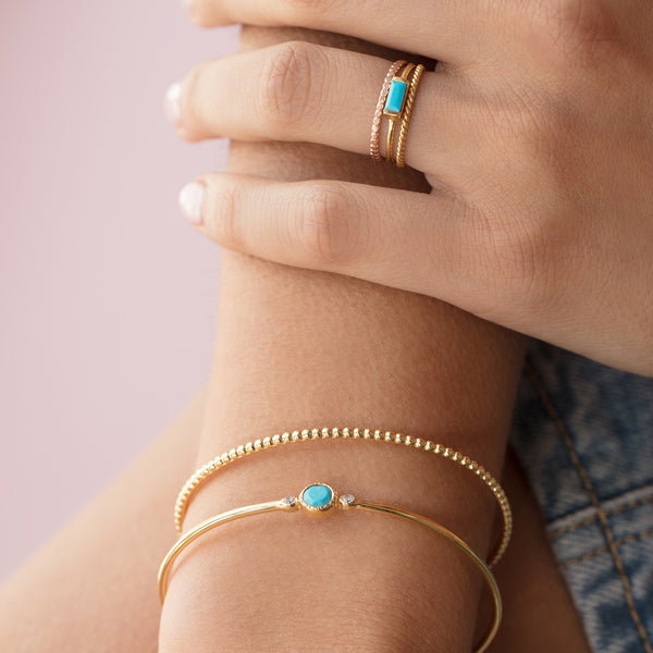 Channel Ring | Turquoise