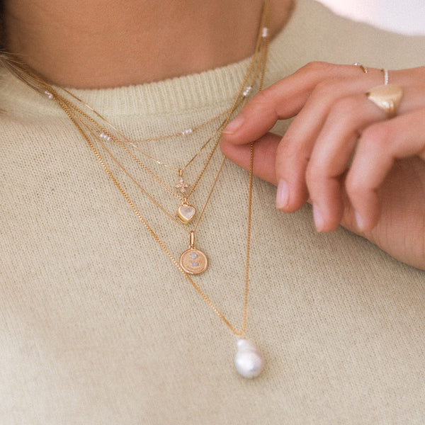 Coeur Necklace | Moonstone