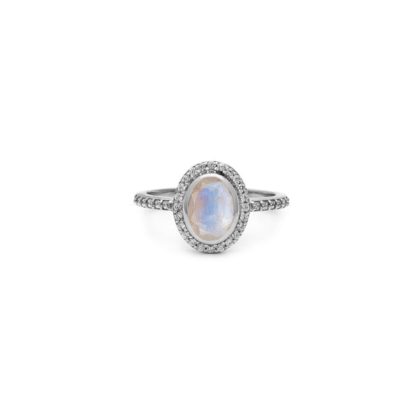 Cameo Ring | Moonstone