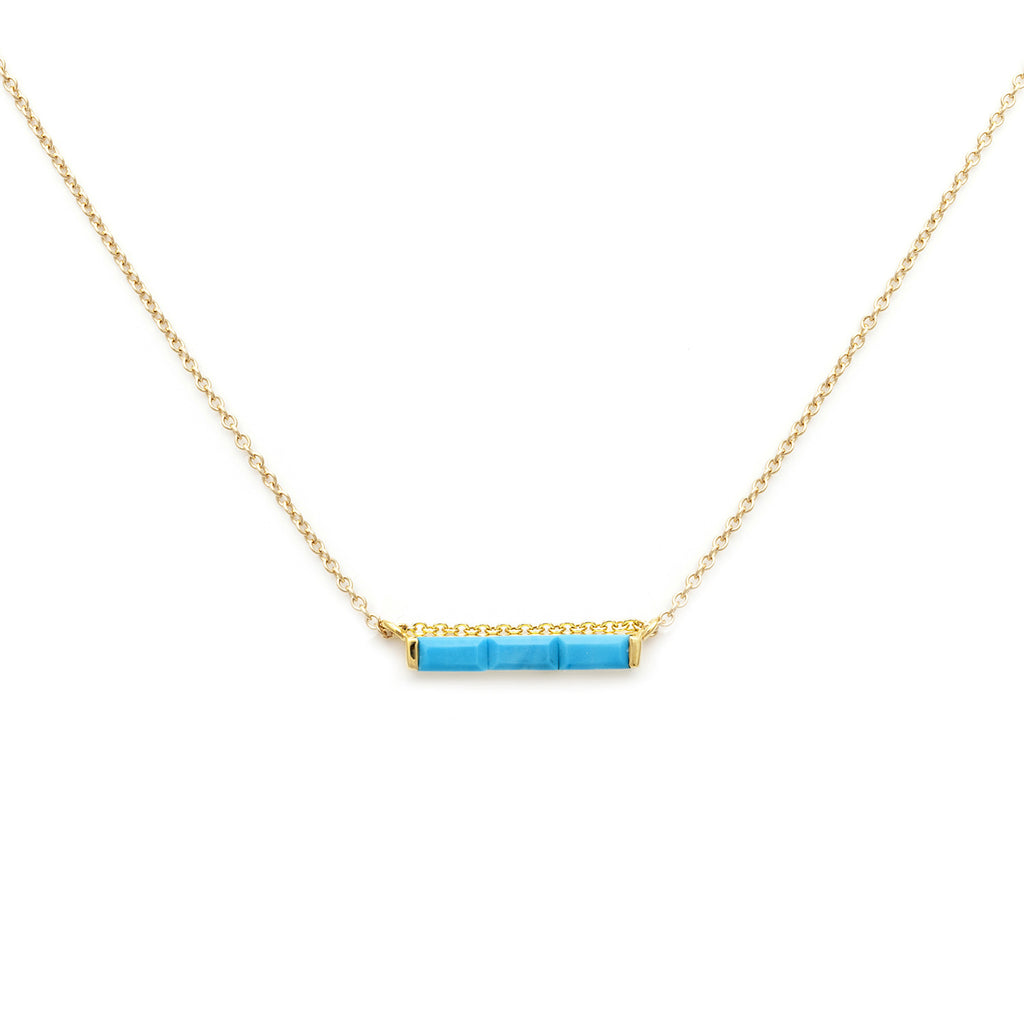 fisher turquoise necklace gem products debbie bead blue