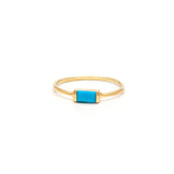 Channel Turquoise Ring