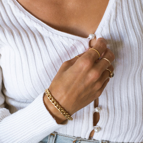 Curb Chain Bracelet | Goldfill