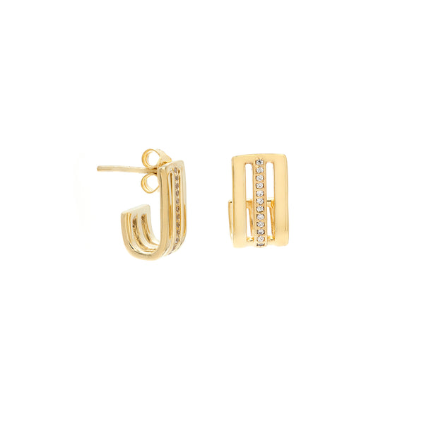 Deja Earrings | Gold