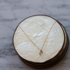 Duet Necklace | Diamond