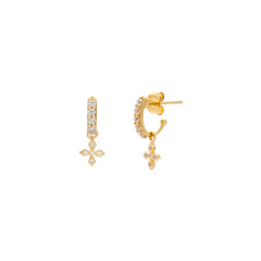 Demi Lirio Hoops | Gold