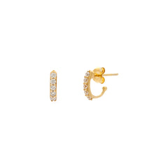 Demi Hoops | Gold