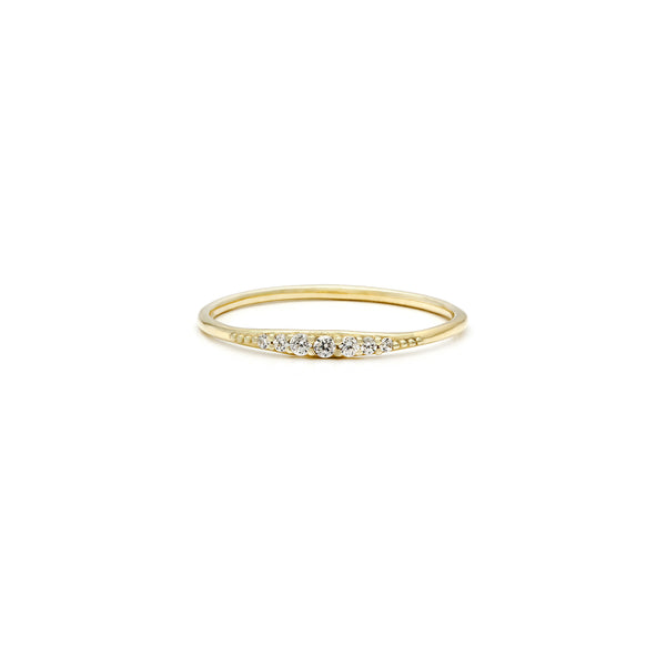 Era Ring | 14k Gold & Diamond