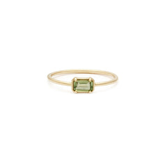 Esmé Ring | Green Tourmaline